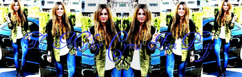 The Miley Cyrus Fan Page: News & Updates
